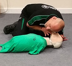 Emergency First Aid at Work, Tue 3 Jul 09:00