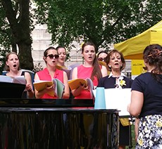 BakerStreetQ Choir, Wednesdays at St Marylebone Parish Church